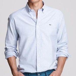 [Vineyard Vines] Pinstripe Slim Fit Whale Shirt